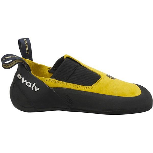 (取寄)イボルブ アディクト スリッパ クライミング シューズ Evolv Men's Addict Slipper Climbing Shoe Yellow