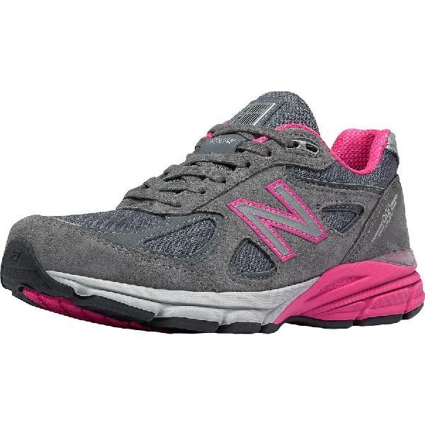 (取寄)ニューバランス レディース スニーカー グレー 990v4スペシャリティー ランニングシューズ New Balance Women 990v4 Specialty Running Shoe Grey/Pink