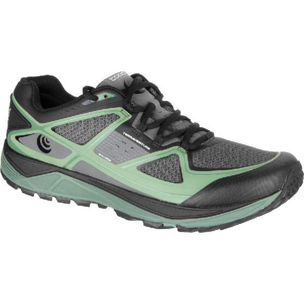 (取寄)トポアスレチック メンズ Terraventure ランニングシューズ Topo Athletic Men's Terraventure Running Shoe Charcoal/Green