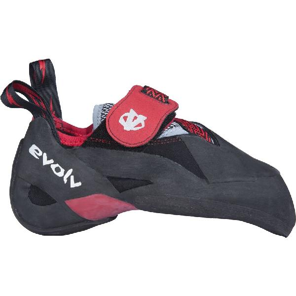 (取寄)イボルブ メンズ アグロ クライミング シューズ Evolv Men's Agro Climbing Shoe Black/Red