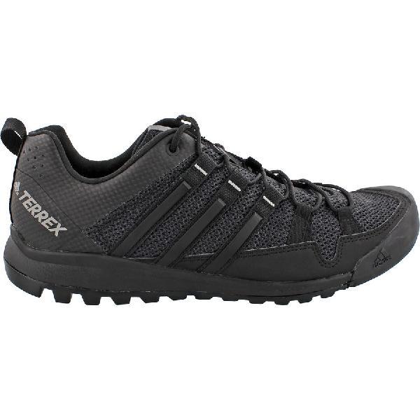 (取寄)アディダス メンズ アウトドア テレックス ソロ アプローチ シューズ Adidas Men's Outdoor Terrex Solo Approach Shoe Dark Grey/Black/Ch Solid Grey