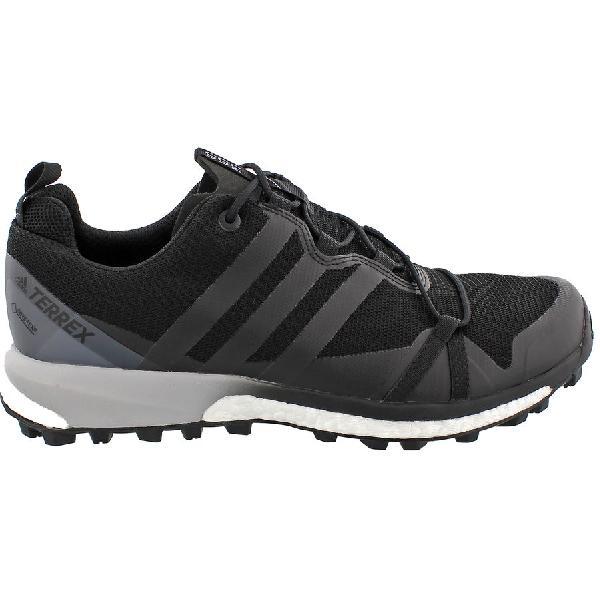 (取寄)アディダス メンズ アウトドア テレックス アグラヴィック GTX シューズ Adidas Men's Outdoor Terrex Agravic GTX Shoe Black/Black/White