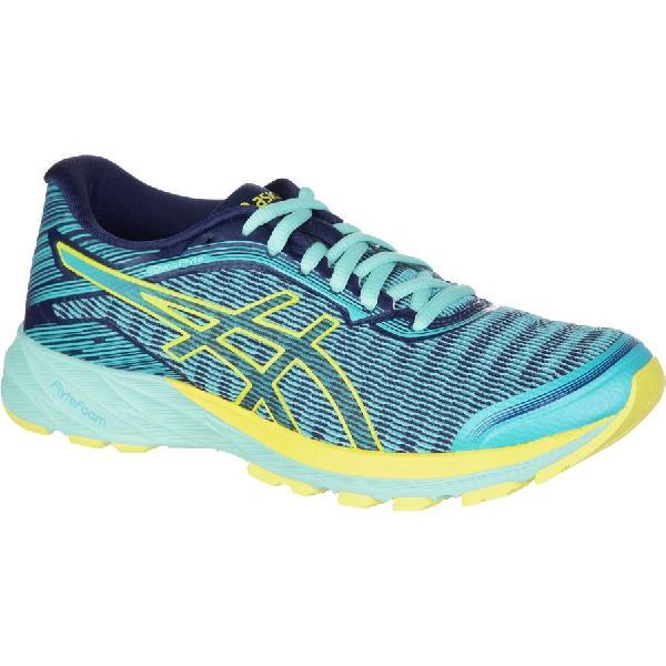 (取寄)アシックス レディース ダイナフライト ランニングシューズ Asics Women Dynaflyte Running Shoe Aquarium/Sun/Indigo Blue
