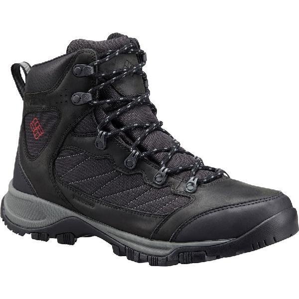 (取寄)コロンビア メンズ カスケード パス ハイキング ブーツ Columbia Men's Cascade Pass Hiking Boot Black/Mountain Red