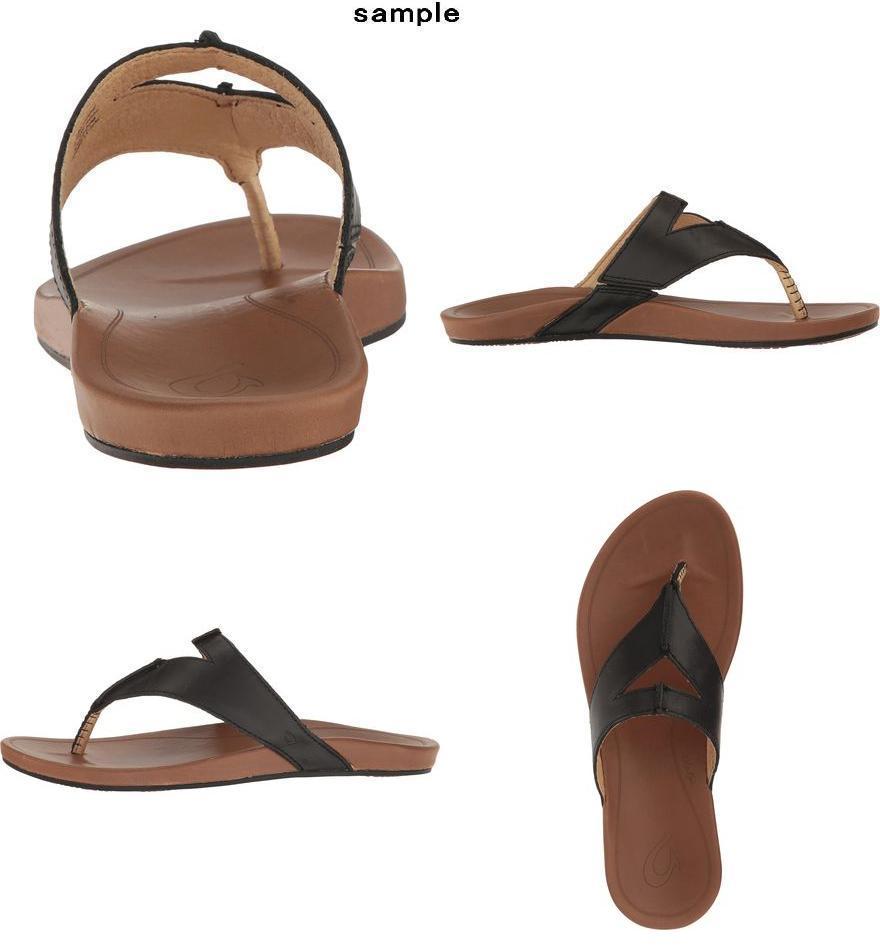 5e0879f99c3 (order) Orr chi Lady s LARA flip-flop Olukai Women Lala Flip Flop Black Tan