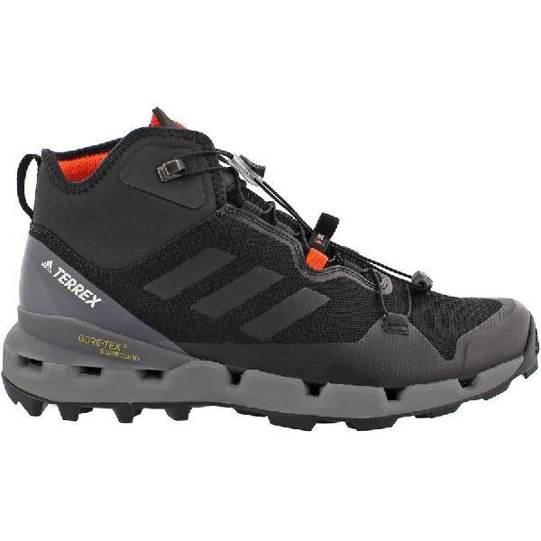 (取寄)アディダス メンズ アウトドア テレックス ファスト GTXSurround ハイキング ブーツ Adidas Men's Outdoor Terrex Fast GTX-Surround Hiking Boot Black/Black/Vista Grey