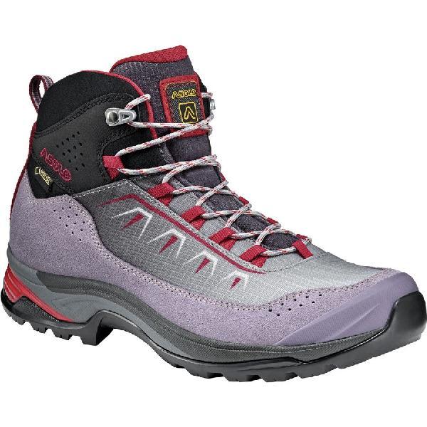 【感謝価格】 (取寄)アゾロ レディース Dried ソウル Soul GV ソウル ハイキング ブーツ Asolo Women Soul GV Hiking Boot Dried Lavander/Silver/Red, 5445:4c9de0b5 --- canoncity.azurewebsites.net