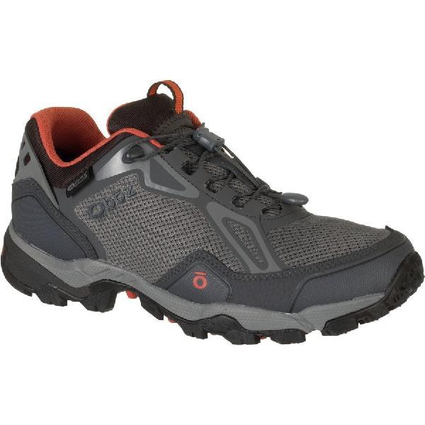 (取寄)オボズ メンズ クレスト ロウ ハイキングシューズ Oboz Men's Crest Low Hiking Shoe Graphite