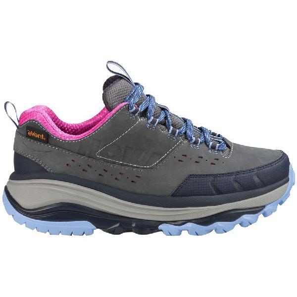 (取寄)ホカ オネオネ レディース トーア サミット WP ハイキングシューズ Hoka One One Women Tor Summit WP Hiking Shoe Steel Grey/Hydrangea