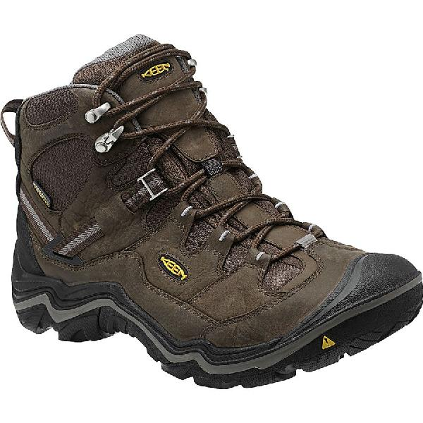 (取寄)キーン メンズ デュアランド ミッド ハイキング ブーツ KEEN Men's Durand Mid Hiking Boot Cascade Brown/Gargoyle