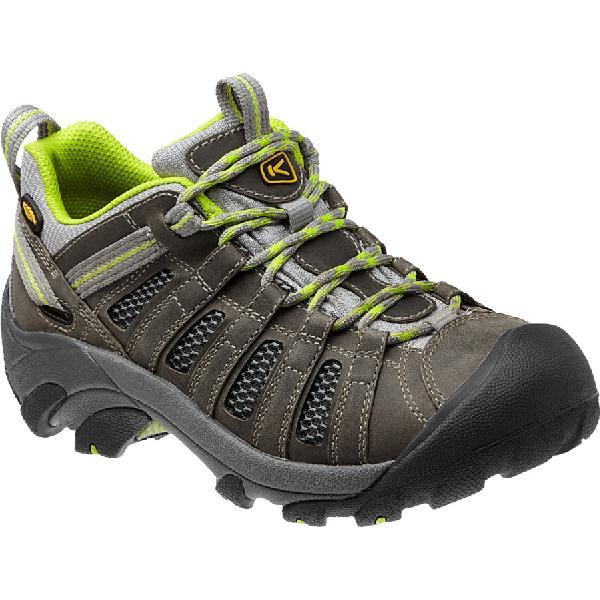 (取寄)キーン レディース ボイジャー ハイキングシューズ KEEN Women Voyageur Hiking Shoe Neutral Gray/Lime Green