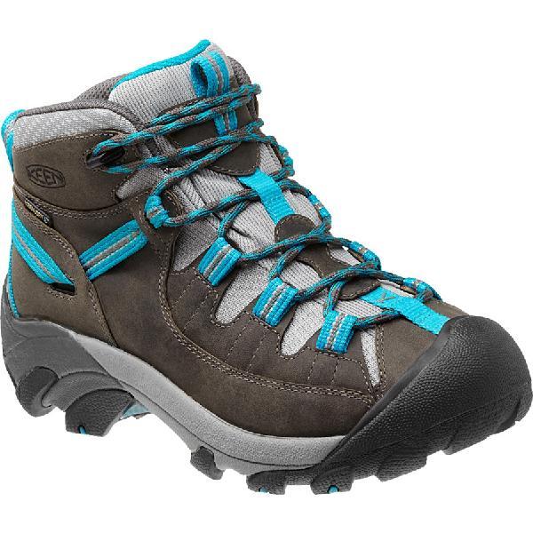 (取寄)キーン レディース ターギー 2 ミッド ハイキングシューズ KEEN Women Targhee II Mid Hiking Shoe Gargoyle/Caribbean Sea