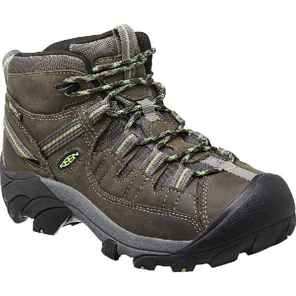 (取寄)キーン レディース ターギー 2 ミッド ハイキングシューズ KEEN Women Targhee II Mid Hiking Shoe Raven/Opaline