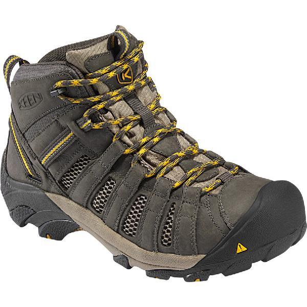 (取寄)キーン メンズ ボイジャー ミッド ハイキング ブーツ KEEN Men's Voyageur Mid Hiking Boot Raven/Tawny Olive