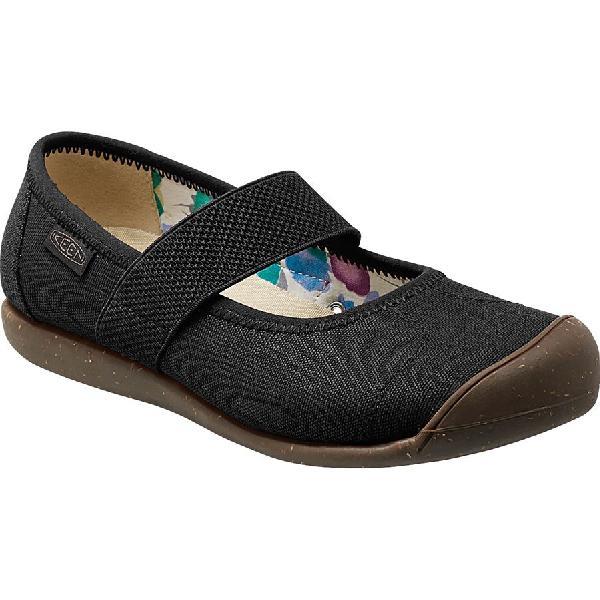 (取寄)キーン レディース シエナ MJ キャンバス シューズ KEEN Women Sienna MJ Canvas Shoe New Black