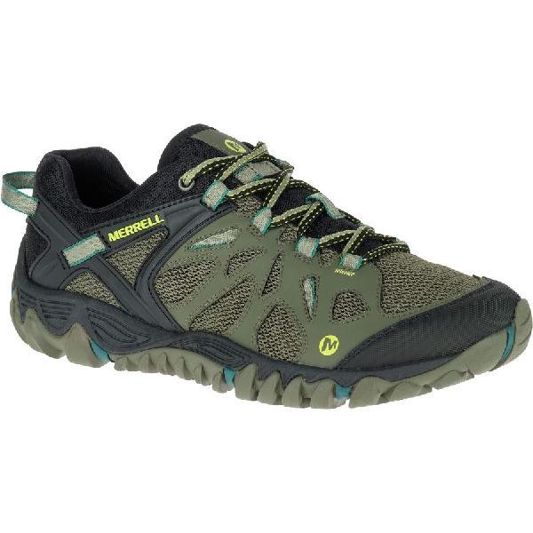 (取寄)メレル メンズ オール アウト ブレイズ エアロ スポーツ シューズ Merrell Men's All Out Blaze Aero Sport Shoe Dusty Olive