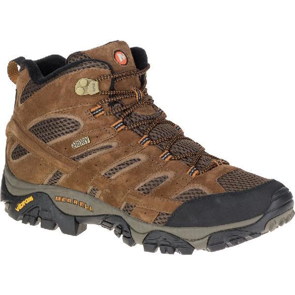 (取寄)メレル メンズ モアブ 2 ミッド ハイキング ブーツ Merrell Men's Moab 2 Mid Hiking Boot Earth