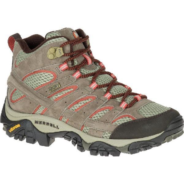 (取寄)メレル レディース モアブ 2 ミッド ハイキング ブーツ Merrell Women Moab 2 Mid Hiking Boot Bungee Cord