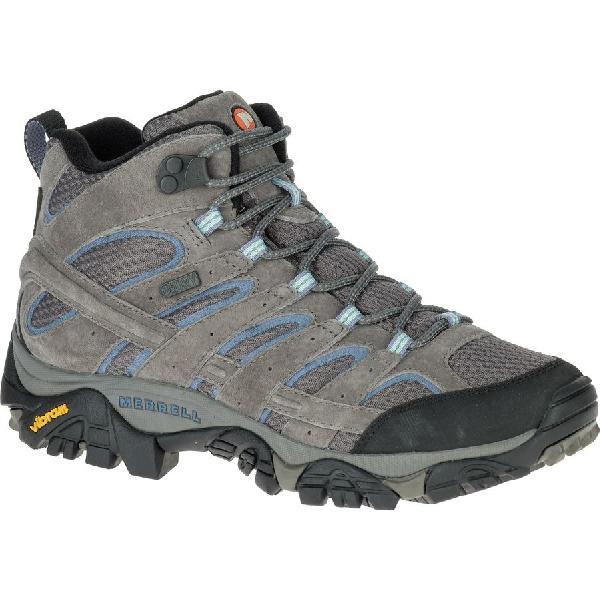 (取寄)メレル レディース モアブ 2 ミッド ハイキング ブーツ Merrell Women Moab 2 Mid Hiking Boot Granite