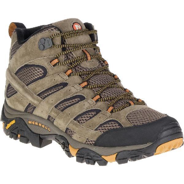 (取寄)メレル メンズ モアブ 2 ミッド ベント ハイキング ブーツ Merrell Men's Moab 2 Mid Vent Hiking Boot Walnut