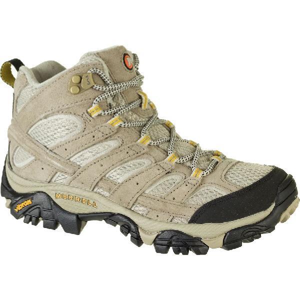 (取寄)メレル レディース モアブ 2 ミッド ベント ハイキング ブーツ Merrell Women Moab 2 Mid Vent Hiking Boot Taupe