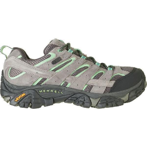 (取寄)メレル レディース モアブ 2 ハイキングシューズ Merrell Women Moab 2 Hiking Shoe Drizzle/Mint