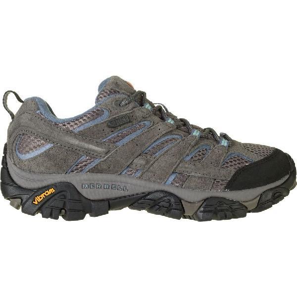 (取寄)メレル レディース モアブ 2 ハイキングシューズ Merrell Women Moab 2 Hiking Shoe Granite