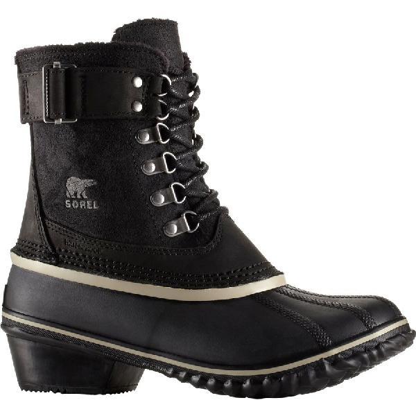(取寄)ソレル レディース ウィンター ファンシー レース 2 ブーツ Sorel Women Winter Fancy Lace II Boot Black/Silver Sage