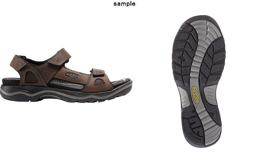 32f6eeee938a JETRAG Rakuten Ichiba Shop  (order) Kean men goaf alto three points sandals  KEEN Men s Rialto 3 Point Sandal Dark Earth Black