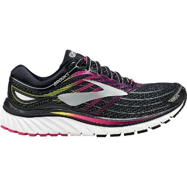 (取寄)ブルックス レディース グリセリン 15 ランニングシューズ Brooks Women Glycerin 15 Running Shoe Black/Pink Peacock/Plum Caspia