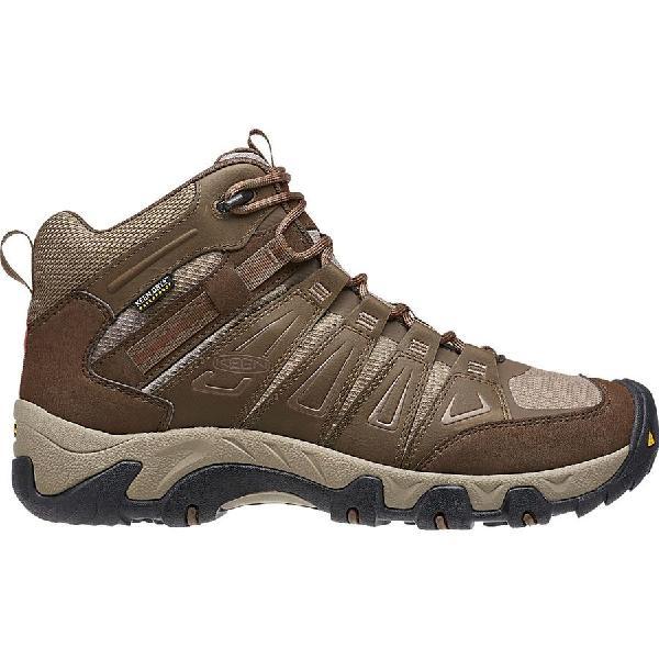 (取寄)キーン メンズ オークリッジ ミッド ハイキング ブーツ KEEN Men's Oakridge Mid Hiking Boot Cascade/Brindle