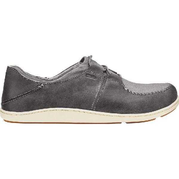 (取寄)オルカイ メンズ ホヌア シューズ Olukai Men's Honua Shoe Charcoal/Charcoal