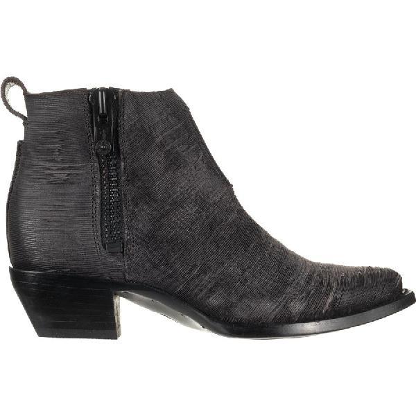 (取寄)フライ レディース サシャ モト ショーティ ブーツ Frye Women Sacha Moto Shortie Boot Charcoal/Cut Vintage Leather