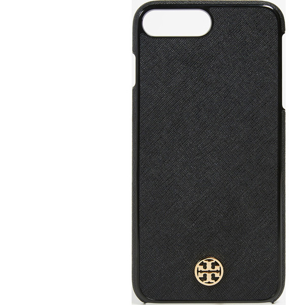 release date: 48f55 bc8dc Eight cases of Tolly Birch iPhone 8 plus case Robinson hardware shell  eyephone positive black Tory Burch Robinson Hardshell iPhone 8 Plus Case  Black