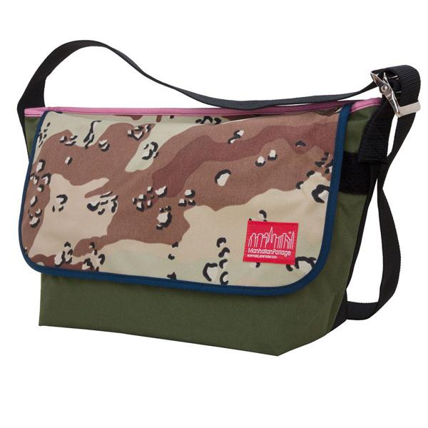 マンハッタンポーテージ ショルダーバッグ 1607VM カモ マルチカラー ビンテージ メッセンジャーバッグ (LG) Manhattan Portage Vintage Messenger Bag