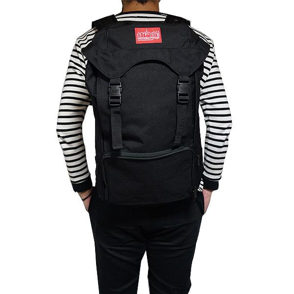 即日発送 マンハッタン ポーテージ Manhattan 買取 Portage 鞄 バッグ バックパック デイパック リュックサック リュック 男女兼用 Backpack ブラック マンハッタンポーテージ ブランド ファッション タウンユース 2103 大放出セール 3 Hiker ハイカー