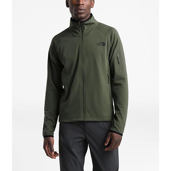 (取寄)ノースフェイス メンズ ボロード フル ジップ トップ The North Face Men's Borod Full Zip Top New Taupe Green / TNF Black
