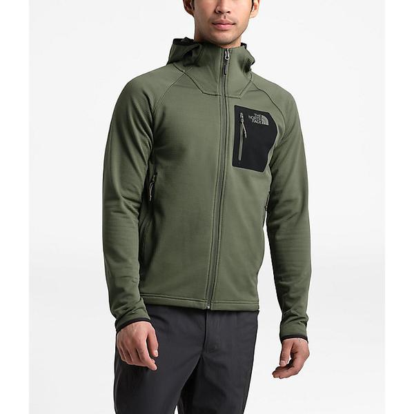 (取寄)ノースフェイス メンズ ボロード フーディ The North Face Men's Borod Hoodie New Taupe Green / TNF Black