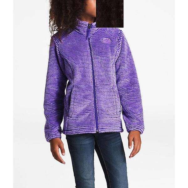 (取寄)ノースフェイス ガールズ オソリータ ジャケット The North Face Girls' Osolita Jacket Dahlia Purple / Deep Blue Stripe