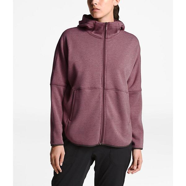 (取寄)ノースフェイス レディース コージー スラッカー フル ジップ ジャケット The North Face Women's Cozy Slacker Full Zip Jacket Fig Heather
