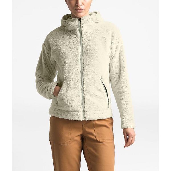 (取寄)ノースフェイス レディース ファーリー フリース フーディ The North Face Women's Furry Fleece Hoodie Vintage White/Dove Grey