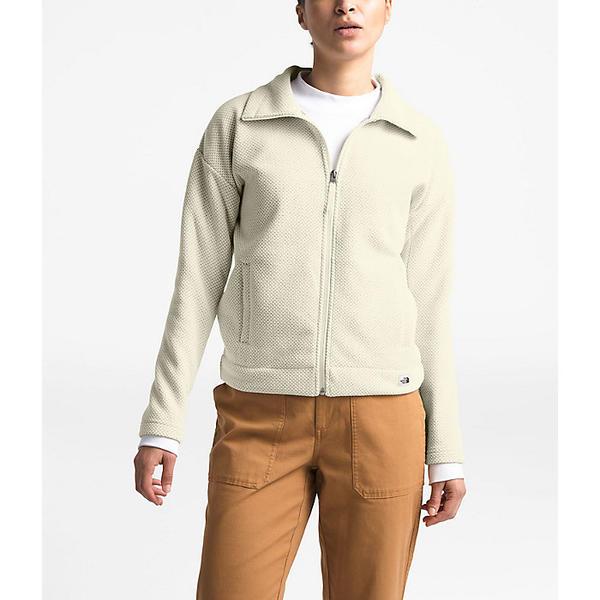 (取寄)ノースフェイス レディース シブリー フリース フル ジップ ジャケット The North Face Women's Sibley Fleece Full Zip Jacket Vintage White Heather