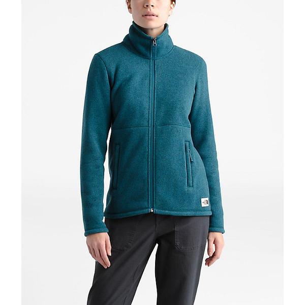 (取寄)ノースフェイス レディース クレセント フル ジップ ジャケット The North Face Women's Crescent Full Zip Jacket Blue Coral Black Heather