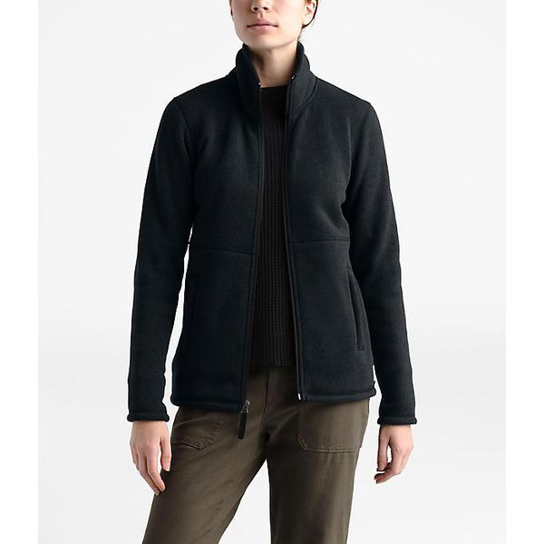 (取寄)ノースフェイス レディース クレセント フル ジップ ジャケット The North Face Women's Crescent Full Zip Jacket TNF Black Heather