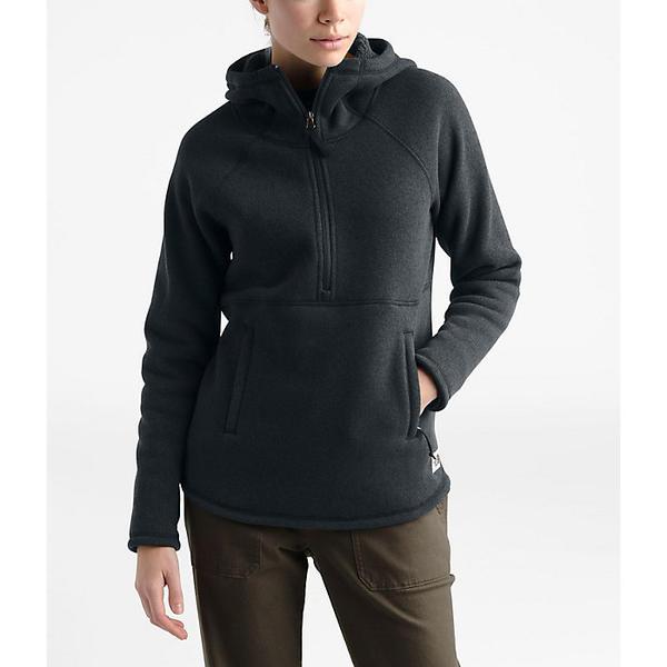 (取寄)ノースフェイス レディース クレセント フーデット プルオーバー The North Face Women's Crescent Hooded Pullover TNF Black Heather