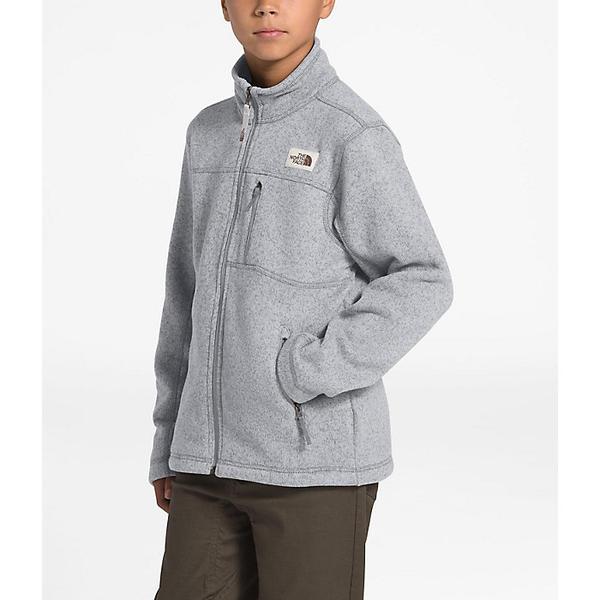 (取寄)ノースフェイス ボーイズ ゴードン ライオン フル ジップ ジャケット The North Face Boys' Gordon Lyons Full Zip Jacket TNF Light Grey Heather