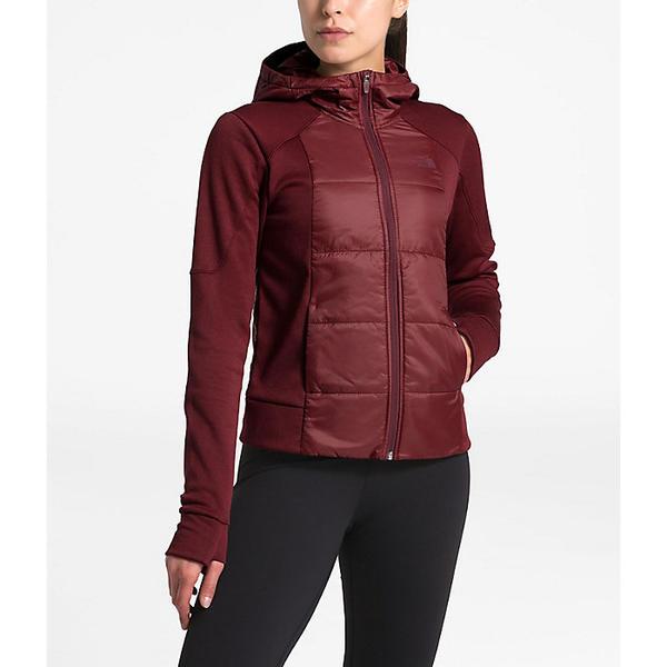 (取寄)ノースフェイス レディース モチベーション ハイブリット ショット ジャケット The North Face Women's Motivation Hybrid Short Jacket Deep Garnet Red