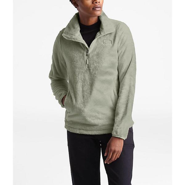 【クーポンで最大2000円OFF】(取寄)ノースフェイス レディース オシト 1/4 ジップ プルオーバー The North Face Women's Osito 1/4 Zip Pullover Dove Grey