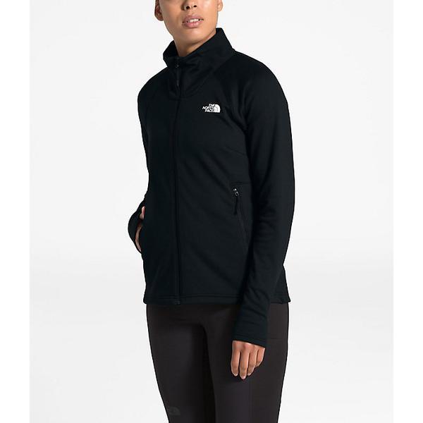 (取寄)ノースフェイス レディース シャスティーナ ストレッチ フル ジップ ジャケット The North Face Women's Shastina Stretch Full Zip Jacket TNF 黒 / TNF 黒
