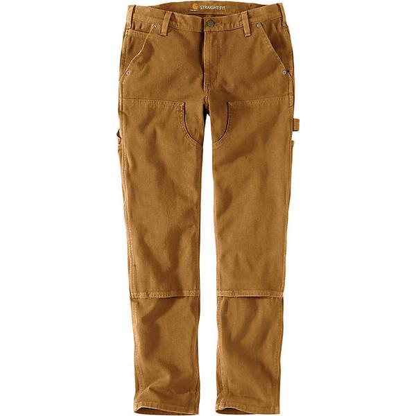 (取寄)カーハート レディース ストレート フィット ツイル ダブル フロント パンツ Carhartt Women's Straight Fit Twill Double Front Pant Carhartt Brown